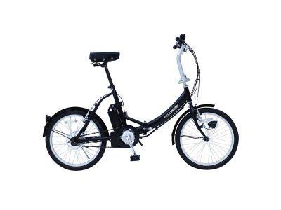 電動アシストノーパンク折畳み自転車 FDB20E  折りたたみかご付 画像1