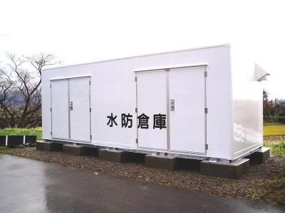 防災倉庫(断熱タイプ)SL-6F 画像1