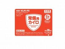 5年保存 オンパックス貼る常備用カイロ(240枚)
