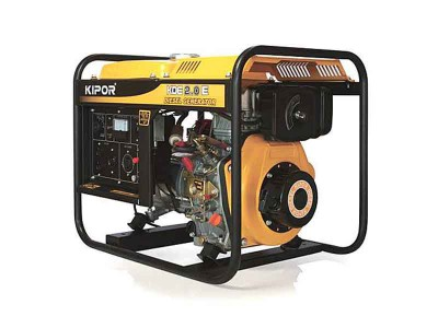 ディーゼルエンジン発電機 HKDE2.0E 画像1