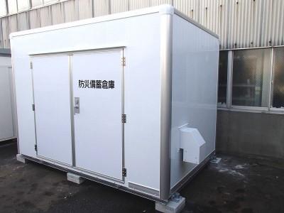 防災倉庫(断熱タイプ)SL-3F 画像1