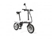 災害時に活躍できる電動原付自転車 (ノーパンクタイヤ仕様)