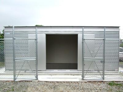 新アルミ製防災倉庫 FSSA-101型 画像1