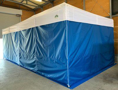 災害時お風呂に入りたいですね!避難所用簡易組立式お風呂 画像1