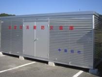 オールアルミ製防災倉庫 FSA-60型