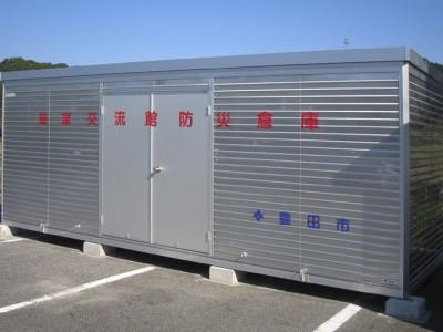 オールアルミ製防災倉庫 FSA-60型 画像1
