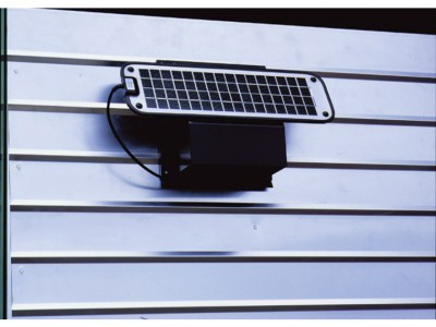 フジストッカー 共通オプション 換気システム 高性能ソーラーベンチレーター