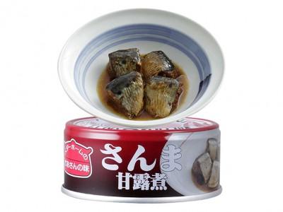 お総菜の缶詰 さんま甘露煮