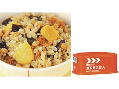 レスキューフーズ主食 栗五目ごはん 画像1