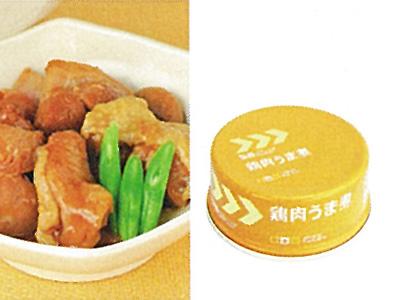 レスキューフーズ副食 鶏肉うま煮 画像1