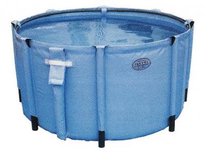 組立水槽(丸型) 500リットル 飲料水用 画像1
