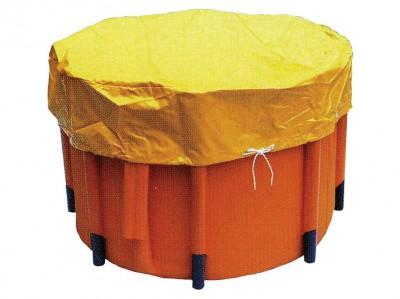 組立水槽(丸型) 5,000リットル 消防用 画像1