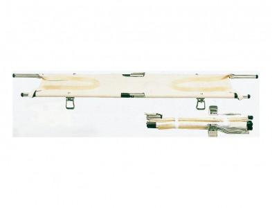四つ折り担架 伸縮型取手 スチール