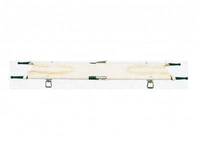 四つ折り担架 固定型取手 スチール