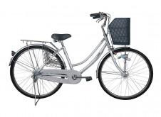 ノーパンク自転車 26インチ軽快車6段ギヤ