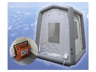 オゾン除菌テントシステム