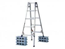 伸縮脚付はしご兼用脚立