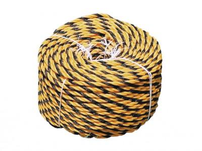 標識ロープ(トラロープ) 9Φ×100m