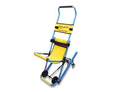 要援護者避難を安全・円滑・迅速に!階段避難車イーバック+チェア(専用スタンド付) 画像1