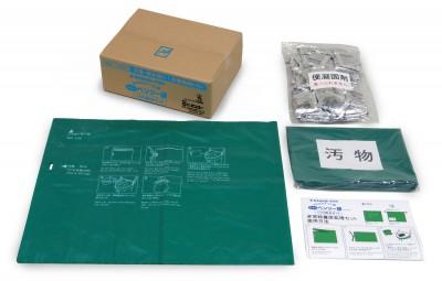 緊急対策用トイレ袋 ベンリー袋R(100回セットA) 画像1