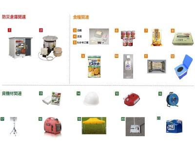 自主防災会向けパッケージ(50人×3日分)3ヵ年計画用 画像1
