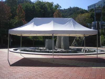 ワンタッチオールアルミ60秒テント 2.4×4.8M 画像1