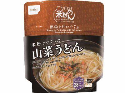 米粉でつくった山菜うどん 画像1